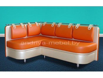 Кухонный диван с емкостями для хранения Дарси